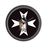 Knight Hospitaller Wall Clock