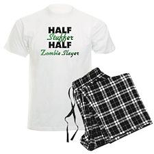 Half Stuffer Half Zombie Slayer Pajamas