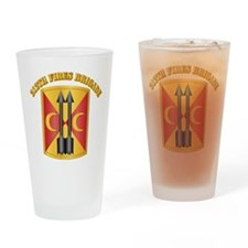 SSI - 212th Fires Brigade with Text Drinking Glass