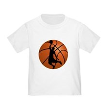 Basketball Dunk Silhouette T-Shirt