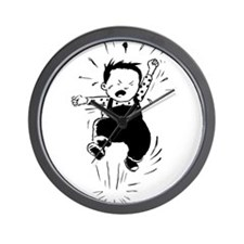 Retro Kid's - Tantrum Wall Clock