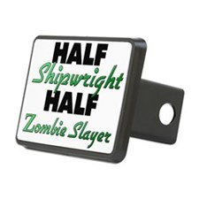 Half Shipwright Half Zombie Slayer Hitch Cover