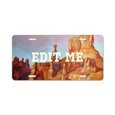 Bryce Canyon Aluminum License Plate