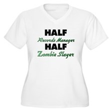 Half Records Manager Half Zombie Slayer Plus Size