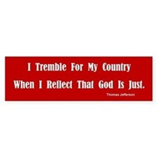 Thomas Jefferson Bumper Bumper Sticker