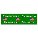 Renewable Energy Bumper Bumper Sticker