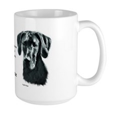 Black Great Dane Mug