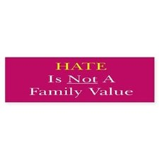 Hate Bumper Sticker