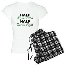 Half Pipe Fitter Half Zombie Slayer Pajamas