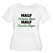 Half Pediatric Nurse Half Zombie Slayer Plus Size