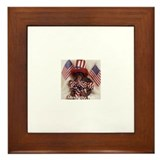 Chimpanzee Framed Tile