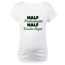 Half Pathologist Half Zombie Slayer Shirt