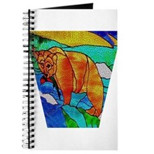 BEAR CATCHING FISH Journal