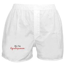 Hi, I am Equatoguinean Boxer Shorts