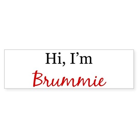 Hi, I am Brummie Bumper Sticker