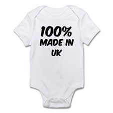 100 Percent Uk Infant Bodysuit
