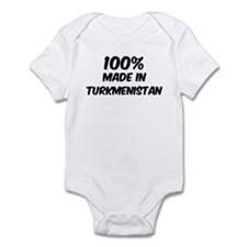 100 Percent Turkmenistan Infant Bodysuit