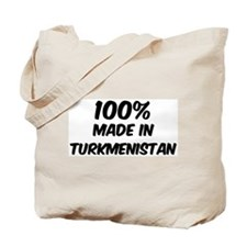 100 Percent Turkmenistan Tote Bag