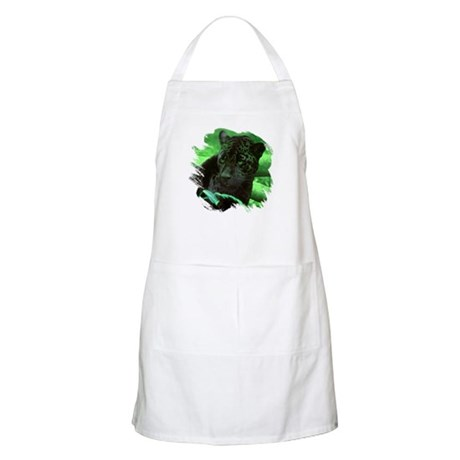 Black Jaguar BBQ Apron