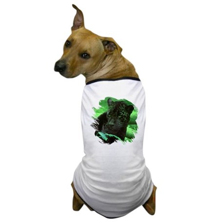 Black Jaguar Dog T-Shirt