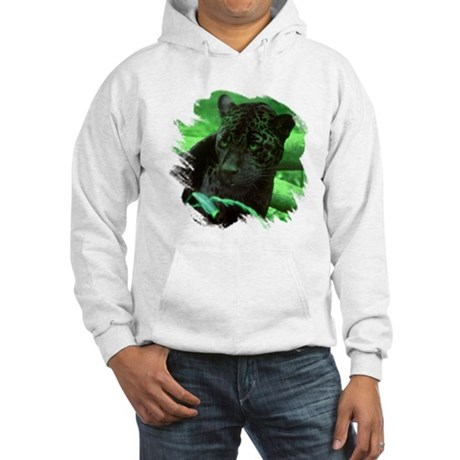 Black Jaguar Hooded Sweatshirt