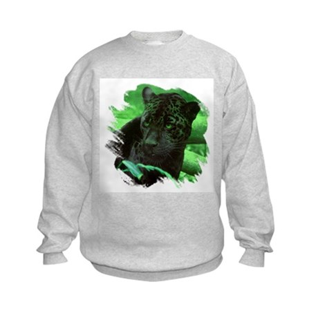 Black Jaguar Kids Sweatshirt