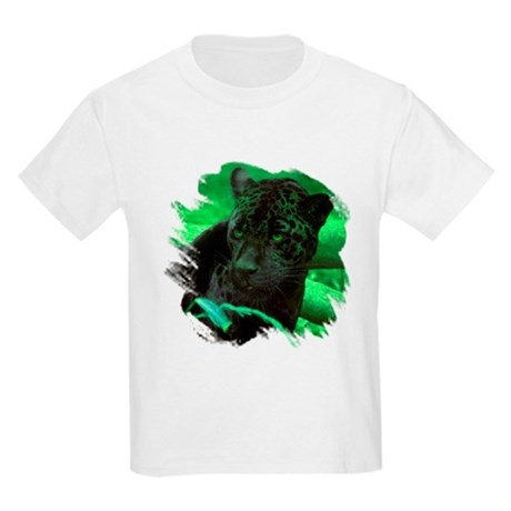 Black Jaguar Kids T-Shirt