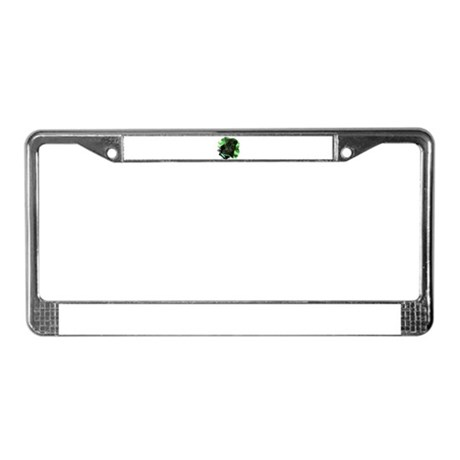 Black Jaguar License Plate Frame
