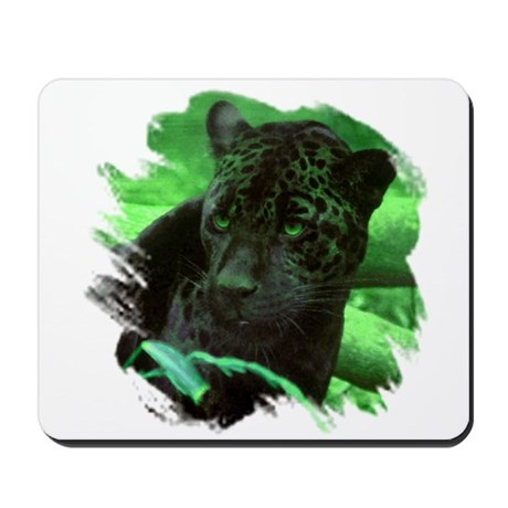Black Jaguar Mousepad