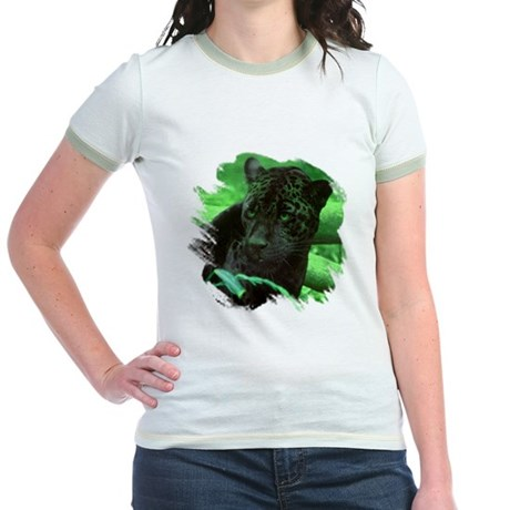 Black Jaguar Jr. Ringer T-Shirt