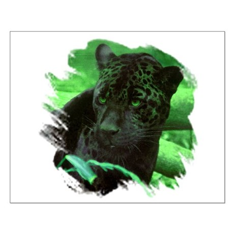 Black Jaguar Small Poster