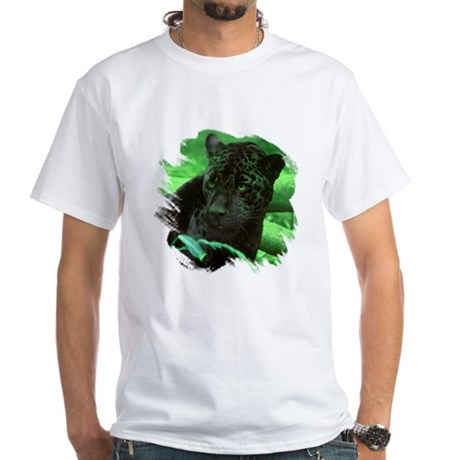 Black Jaguar White T-Shirt
