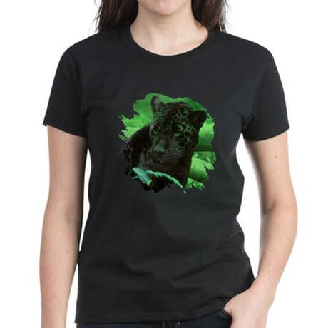 Black Jaguar Women's Dark T-Shirt