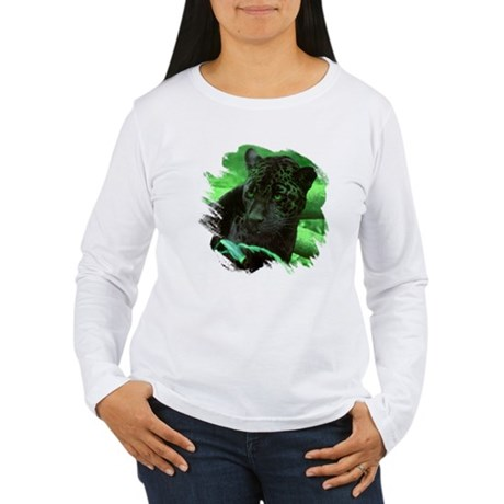 Black Jaguar Women's Long Sleeve T-Shirt