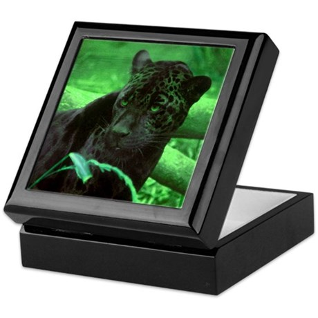 Black Jaguar Keepsake Box