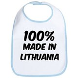 100 Percent Lithuania Bib