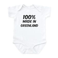 100 Percent Greenland Infant Bodysuit