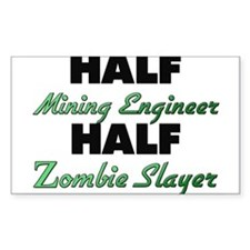 Half Mining Engineer Half Zombie Slayer Decal
