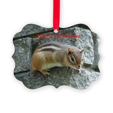 Chipmunck Ornament
