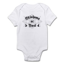 Oklahoma or Bust Infant Bodysuit