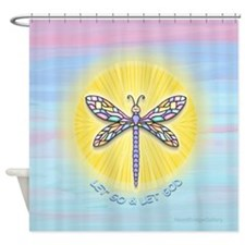 LetGo-Dragonfly1 Shower Curtain