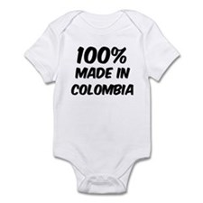100 Percent Colombia Onesie