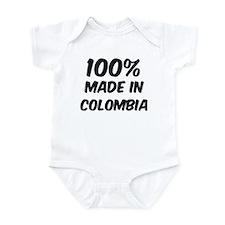 100 Percent Colombia Onesie