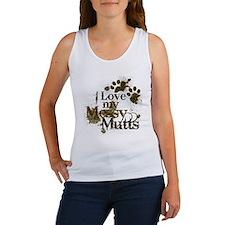 I love my mutts Women's Tank Top