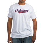 Retro Arkansas Fitted T-Shirt