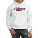 Retro Arkansas Hooded Sweatshirt