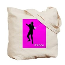 iFence pink/purple - Tote Bag