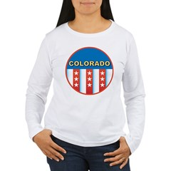 Patriotic Colorado Women's Long Sleeve T-Shirt