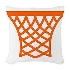 Basketball Net Woven Throw Pillow