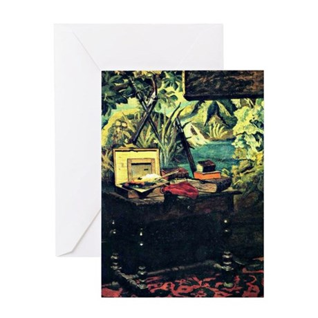 Monet - A Corner of the Studio Greeting Card